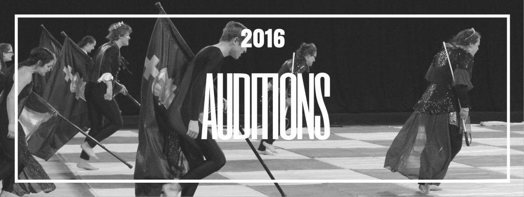 Audition for the 2017 Season