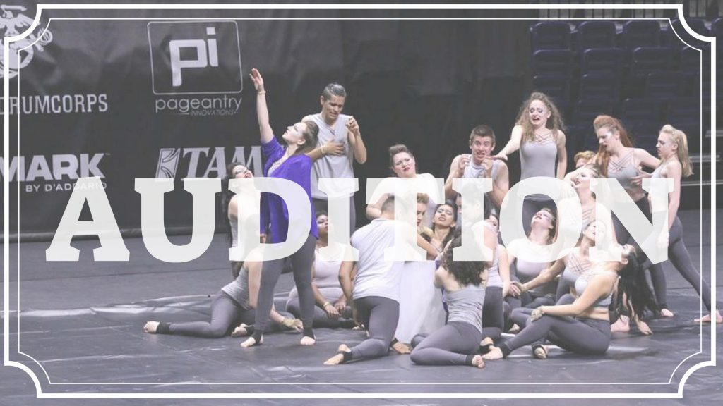 Audition for the 2019 Season